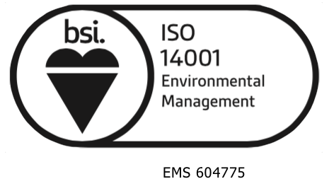 Certified Environmental Management System Seal from NCS International